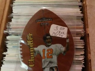 lot of Football Trading Cards