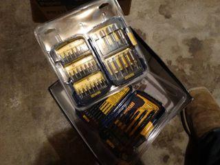2 new drill bit sets