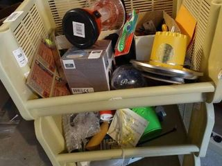 Storage bins w  contents