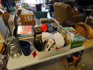 lot of various home decor   misc