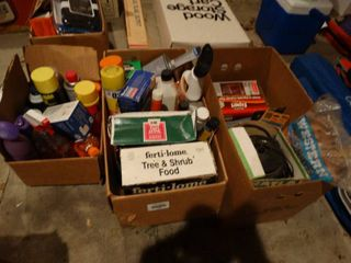 lARGE lot of assorted cleaners chemicals