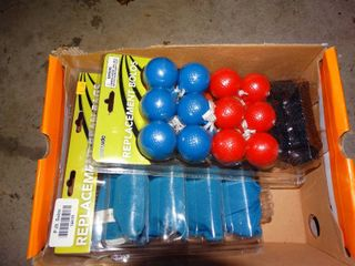 lot of Replacement Bolos and Bean Bags