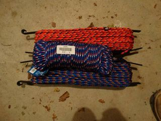 3 rolls of new rope