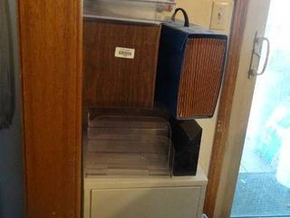 2 Drawr File Cabinet with Paper Organizers