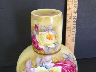Nippon hand painted bedside tumble up