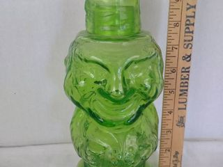 Green Jolly mountaineer tumble up decanter