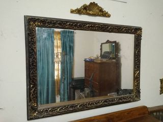 Decorative wall mirror and accent wall decor
