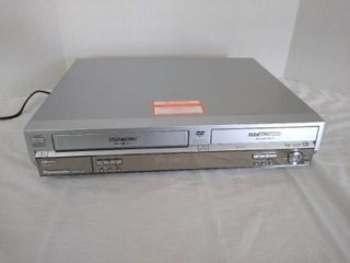 Panasonic dvd vhs player has remote
