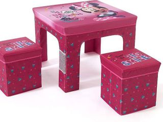 Foldaway Children s Table and Stool Set with Storage