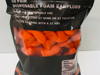 Disposable Foam Earplugs