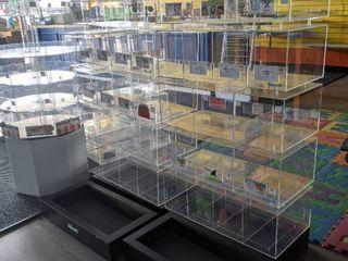 Retail Organizer Bin Displays