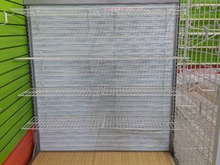 Double Sided Rolling Retail Display