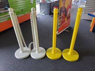 4  Plastic line Poles