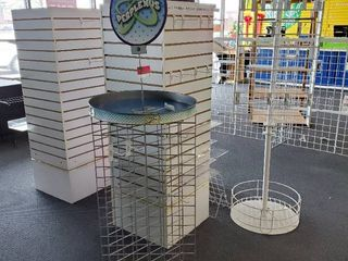 4  Retail Display Stands