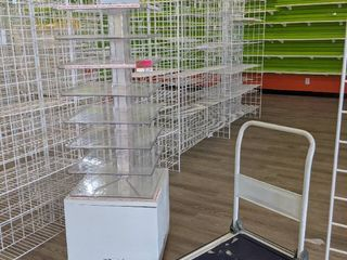 Retail Display And Rolling Cart