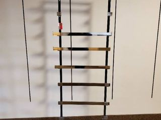 6ft Rolling Display Rack