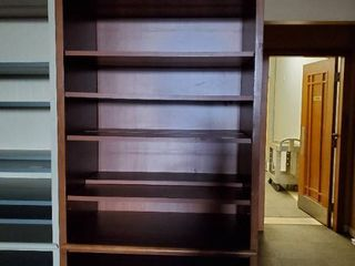 8ft Wood Bookshelf