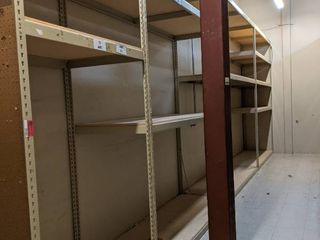 Row Of Shelving