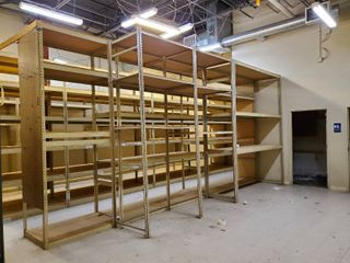 10ft Tall Double Sided Metal Shelving