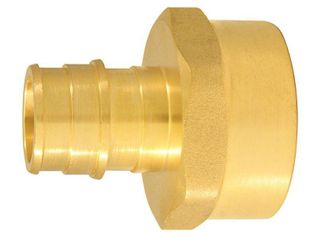 8975377 EXPANSION PEX FITTINGS FEMAlE ADAPTER BRASS PEX A APOllO PEX X FEMAlE  FIP Size In 3 4 x 1