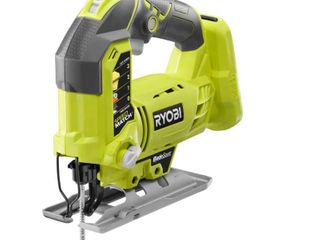 Ryobi One  P5231 18V lithium Ion Cordless Orbital T Shaped 3 000 SPM Jigsaw  Battery Not Included  Power Tool and T Shaped Wood Cutting Blade Only
