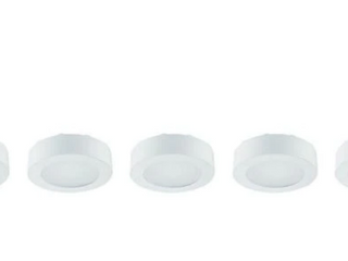 Commercial electric 5 lED Puck lights soft white