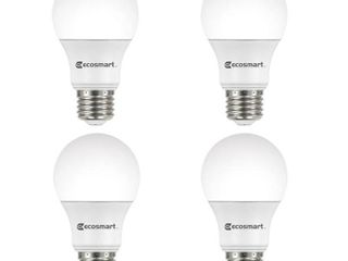 Ecosmart 60W Equivalent Daylight A19 Energy Star   Dimmable lED light Bulb
