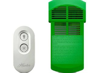 Hunter Universal On Off Damp Rated Ceiling Fan Remote Control White