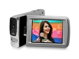 Polaroid ID1440 BlK KHl Polaroid 14 MP 4x Zoom Digital Camcorder with 2 7 Inch lCD Screen  Black