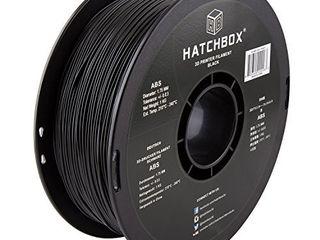 HATCHBOX ABS 3D Printer Filament  Dimensional Accuracy   0 03 mm  1 kg Spool  1 75 mm  Black