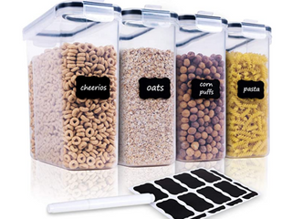 Chefs Path Cereal Storage Container Set