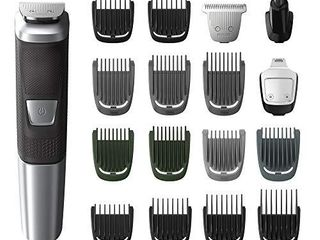 Philips Norelco MG5750 49 Multigroom All In One Trimmer Series 5000 With 8Piece  No Blade Oil Needed  Black  1 Count