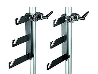 Manfrotto 044 B P Clamps 2 Holder Hooks 045 Mounted on 2 Superclamps 035