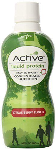 3 Medline   ENT693CB Active liquid Protein Nutritional Supplement  30 fl oz  4 Count