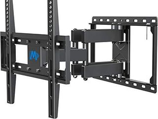 Mounting Dream Ul listed TV Mount TV Wall Mount with Swivel and Tilt for Most 32 55 Inch TV  Full Motion TV Mount with Articulating Dual Arms  Max VESA 400x400mm  99 lbs  loading  16 inch Studs MD2380