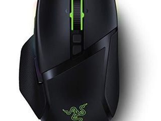 Razer Basilisk Ultimate HyperSpeed Wireless Gaming Mouse  Fastest Gaming Mouse Switch  20K DPI Optical Sensor  Chroma RGB lighting  11 Programmable Buttons  100 Hr Battery  Classic Black