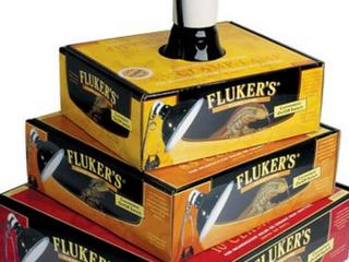 FlUKER S DElUXE ClAMP lAMP FOR INCANDESCENT BUlBS OR CERAMIC HEAT EMITTERS