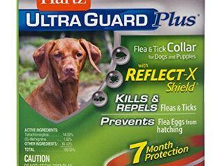 Hartz UltraGuard Plus Reflective Orange Flea   Tick Collar for Dogs and Puppies