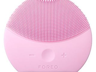 FOREO lUNA mini 2 Facial Cleansing Brush for Spa Skincare at Home  Pearl Pink