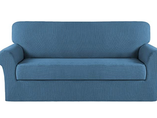 2 Piece Stretch Furniture Cover  Turquoize