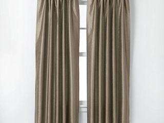 108 x30  Marquee lined Room Darkening Curtain Panel Bronze   Curtainworks  Set of 2