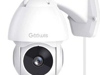 Goowls Security Camera Outdoor White