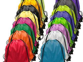 Drawstring Backpack Bulk large Drawsting Bag Kids Drawstring Backpack String Bag 16 Colors