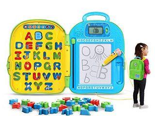 leapFrog Mr  Pencil s ABC Backpack MISSING N AND V