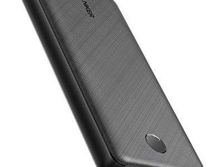 Anker Portable Charger  PowerCore Essential 20000mAh Power Bank with PowerIQ Technology and USB C  Input Only  High Capacity External Battery Pack Compatible with iPhone  Samsung  iPad  and More