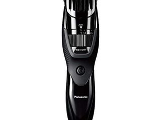 Panasonic Cordless Men s Beard Trimmer With Precision Dial  Adjustable 19 length Setting  Rechargeable Battery  Washable   ER GB42 K  Black