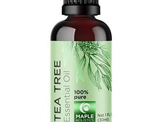 100  Tea Tree Oil Pure   Tea Tree Essential Oil for Skin Dry Scalp and Cuticle Oil for Nail Cleaner   100  Pure Tea Tree Oil for Hair Skin and Nails Plus Cleansing Oil for Face   Packaging May Vary