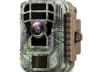 Campark Mini Trail Camera 16MP 1080P HD Game Camera Waterproof Wildlife Scouting Hunting Cam with 120 Wide Angle lens and Night Vision 2 0 lCD IR lEDs