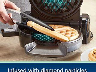 Oster 2110002 DiamondForce Vertical Waffle Maker  One Size  Dark Metallic