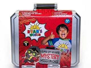 RYAN S WORlD Secret Agent Mystery Mission Case  Amazon US Exclusive